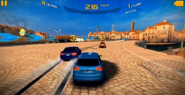 Онлайн игра Asphalt 8 на Андроид