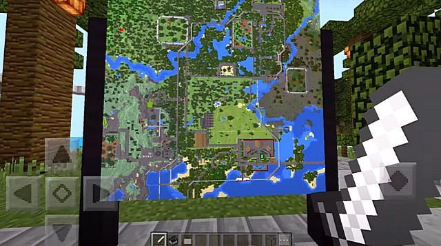 Карта Парк Динозавров для Майнкрафт ПЕ на Андроид