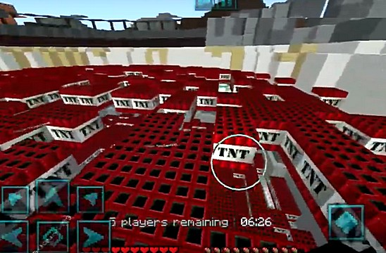 Паркур карта TNT Run для Майнкрафт ПЕ на Андроид