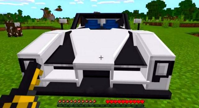 Мод на Андроид - Машина для Майнкрафт ПЕ 1.16