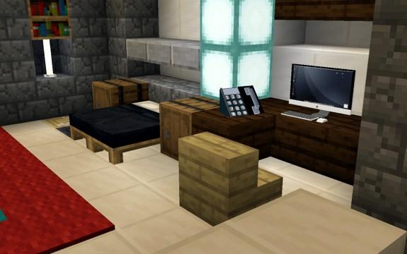 Мод на мебель для Майнкрафт ПЕ 1.16 скачать с Яндекс диска
