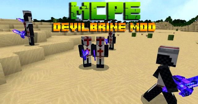 Скачать бесплатно мод на Андроид для Minecraft PE - Devilbrine