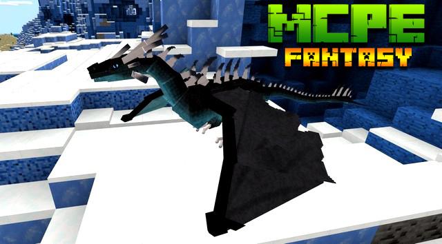 Скачать мод Fantasy для Minecraft PE 1.16, 1.14 на Андроид