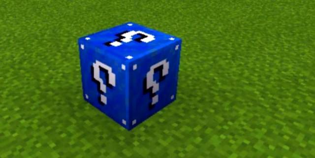 Мод Лаки блок для Майнкрафт ПЕ 1.16, 1.14 на Андроид
