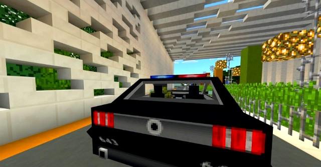 Мод MCPE 1.16 на машину для Андроид - Police аддон