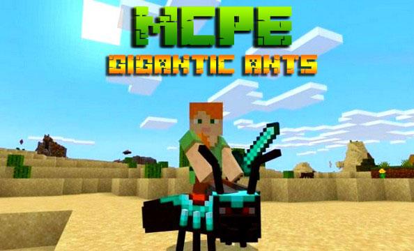 Мод на Андроид для Minecraft PE 1.16 / Гигантские муравьи
