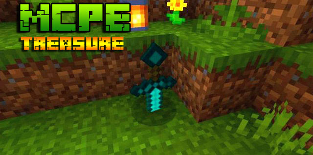 Мод на Андроид для Minecraft PE - Random Treasure
