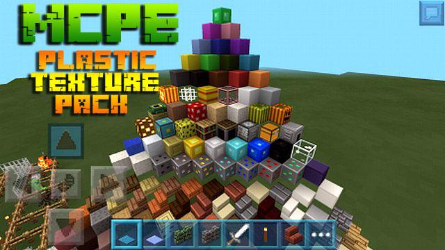 Скачать текстуры Plastic для Майнкрафт 1.16 на Андроид