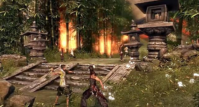 Ролевая онлайн игра Blood and Soul на ПК