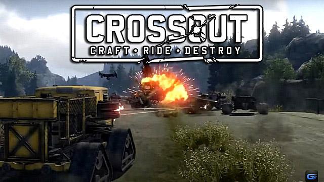 Игра онлайн Crossout на ПК