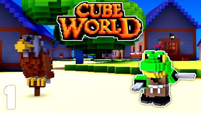 Cube World скачать на компьютер / Русская версия