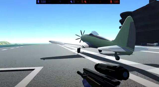 3Д шутер на компьютер   Ravenfield