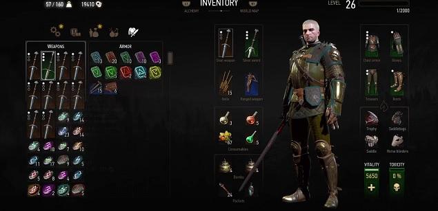 Оружие в игре Ведьмак 3 | Мечи, арбалеты, рунические Камни