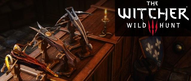 Оружие в игре Ведьмак 3 | Мечи и арбалеты
