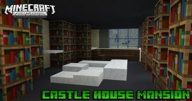 Карта Castle House Mansion для Майнкрафт PE 1.16.40