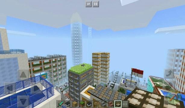 Карта Craft World для Minecraft PE 1.2.x