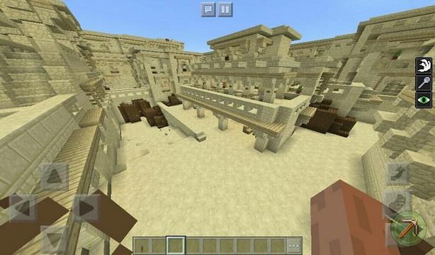 Карта Counter Strike: De Dust для Minecraft PE