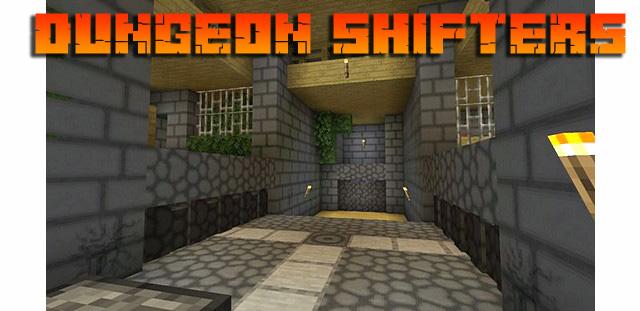 Карта на Андроид для Майнкрафт PE - Dungeon Shifters