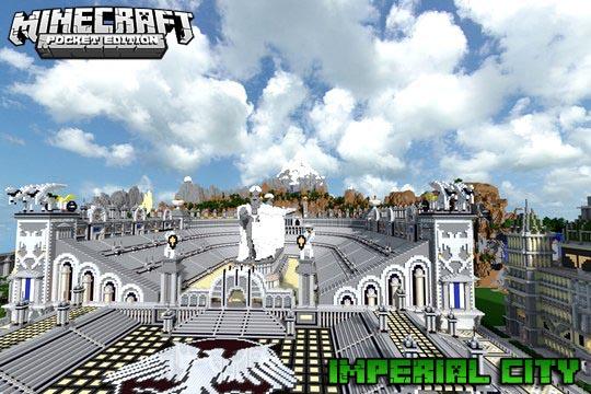Майнкрафт карта город империй | MCPE 1.16 | iOS | Андроид