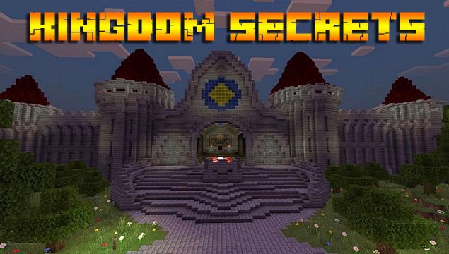 Майнкрафт карта на Андроид - Kingdom-secrets