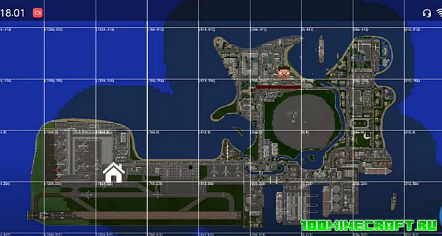 Карта Остров Комодо для Майнкрафт ПЕ 1.16