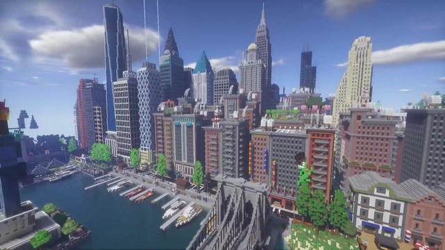 Карта Kubik World для Minecraft PE