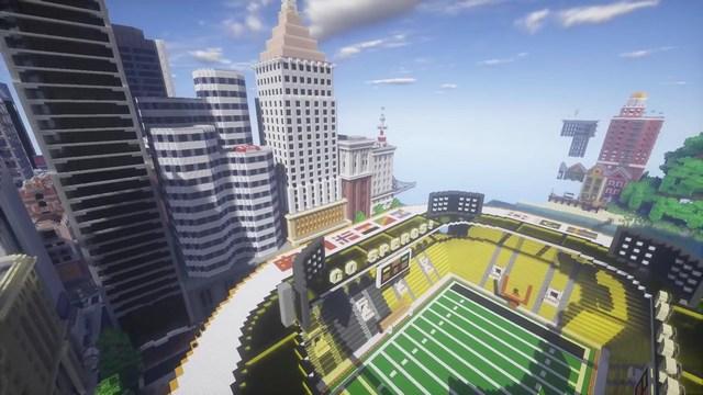 Карта Kubik World для Minecraft PE