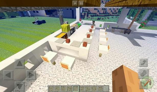 Карта для Minecraft PE 1.2.10 / Современный особняк