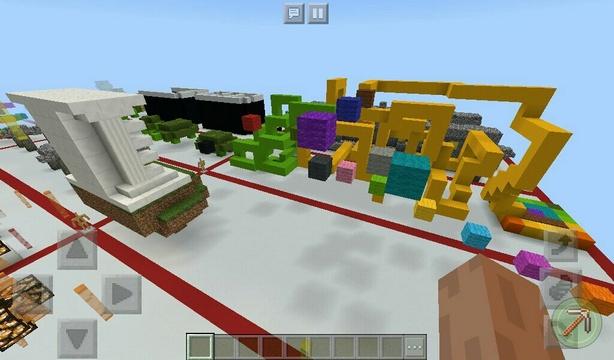 Скачать паркур карту для Minecraft PE | Parkour Pounce