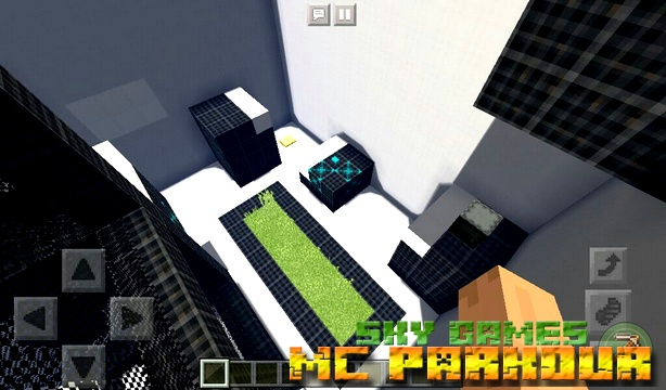 Карта SG: MC Parkour 2 на Майнкрафт PE 1.2.13, 1.2.10, Windows 10
