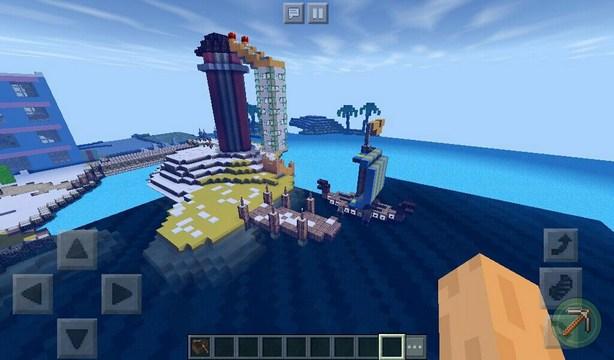 Скачать паркур карту World of Color для Minecraft PE 1.2.10