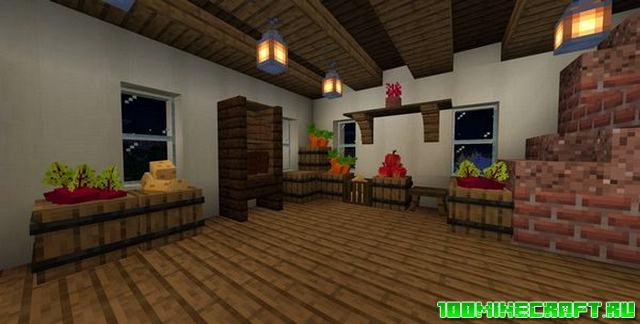 Аддон Medieval Furniture для Minecraft PE 1.16