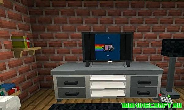 Мод Peepss Furniture на мебель для Майнкрафт ПЕ 1.16