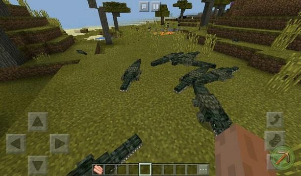 Мод Animals World (Мир животных) для Minecraft PE 1.2.10