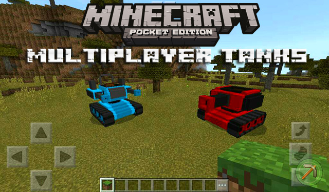 Мод на танки для Minecraft PE 1.2.10 / Windows 10