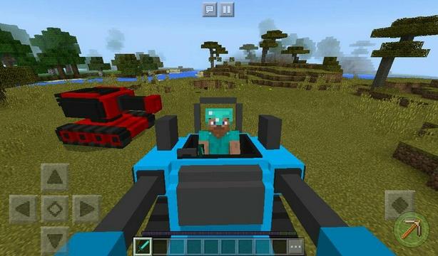 Мод на танки для Minecraft PE 1.2.10 / Windows 10