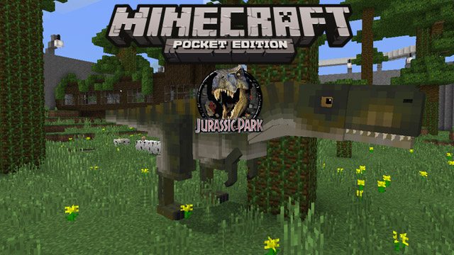 Скачать мод Jurassic park для Minecraft PE 1.2.9