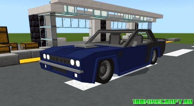 Мод на машину Barracuda для Майнкрафт ПЕ 1.16