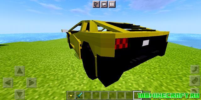 Мод на машину для Майнкрафт ПЕ 1.16   MCPE