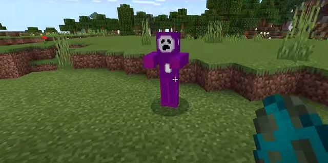 Мод Slendytubbies для Minecraft PE 1.16