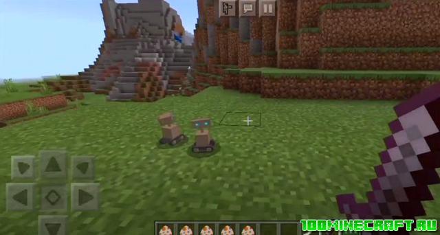 4D текстуры Among US для Minecraft Bedrock | Андроид | Win 10