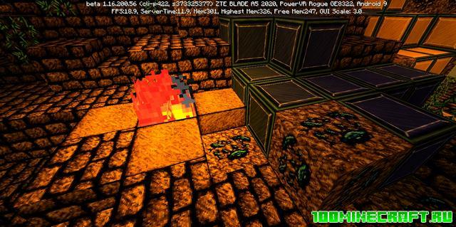 Текстуры Flick для MCPE 1.16   Minecraft PE