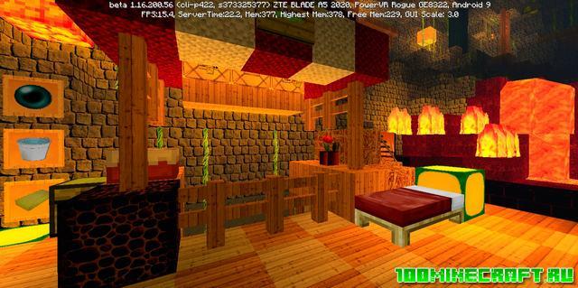 Текстур пак Realistic Pro 128x128 для Minecraft PE