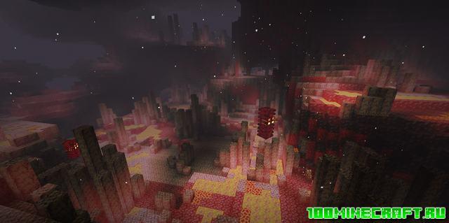 Шейдеры Aquarius для Minecraft PE 1.17, 1.16