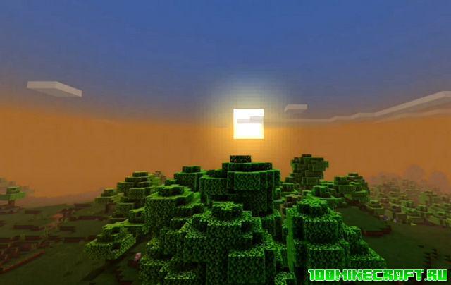 Скачать шейдеры Fishy's для Minecraft PE 1.16