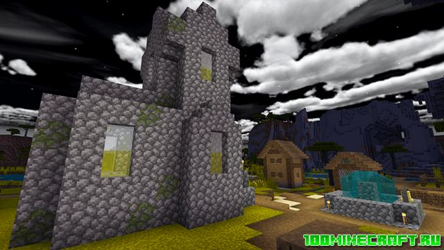 Шейдеры Shaderless RTX для Minecraft Bedrock 1.16   MCPE