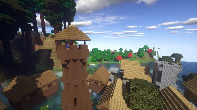 Minecraft with mods / 2021 (Build 147 mods)