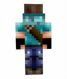 Minecraft скин - Охотник