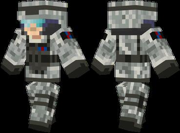 Скачать бесплатно скин для Майнкрафт - Солдат будущего