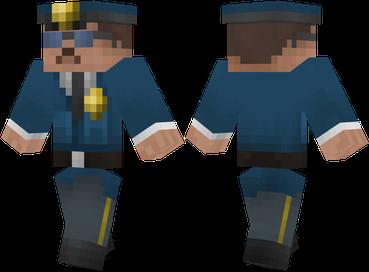Скачать бесплатно скин полицеского для Minecraft